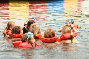 Jr. camp is a safe and awesome adventure for 4th and 5th grade campers!