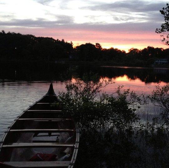 Morning view on Lake View Lake!
